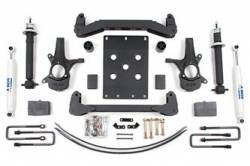 "CHEVY / GMC - 2007-17 Chevy / GMC 1/2 Ton Pickup & SUV - BDS Suspension - BDS Suspension 6"" Lift Kit for 2007 - 2013 Chevrolet/GMC 2WD 1500 Series Silverado/Serria 1/2 ton pickup - 174H"