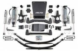 "CHEVY / GMC - 2007-17 Chevy / GMC 1/2 Ton Pickup & SUV - BDS Suspension - BDS Suspension 6"" Coil-Over Suspension Lift Kit for 2007 - 2013 Chevrolet/GMC 4WD 1500 Series Silverado/Serria 1/2 ton pickup - 176F"