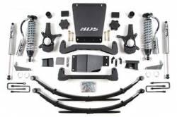 """4WD - 2007-2013 - BDS Suspension - BDS Suspension 6"""" Coil-Over Suspension Lift Kit for 2007 - 2013 Chevrolet/GMC 4WD 1500 Series Silverado/Serria 1/2 ton pickup - 176F"""