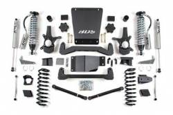 "Suburban 1/2 Ton 4WD - 2007-2013 - BDS Suspension - BDS Suspension 6"" Coil-Over Suspension Lift Kit for 2007 - 2013 Chevrolet/GMC 4WD 1500 Series Avalanche, Suburban, Tahoe, Yukon, and Yukon XL 1500 1/2 ton SUV's - 178F"