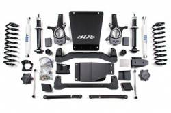 "Tahoe / Yukon 4WD - 2007-2013 - BDS Suspension - BDS Suspension 6"" Lift Kit for 2007 - 2013 Chevrolet/GMC 4WD Avalanche, Suburban, Tahoe, Yukon, and Yukon XL 1500 1/2 ton SUVs - 178H"