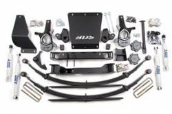 "4WD - 1999-2006 K1500 - BDS Suspension - BDS Suspension 6-1/2"" Lift Kit for 1999 - 2006 Chevrolet/GMC 4WD Silverado/Sierra 1500 1/2 ton pickup truck - 179H"