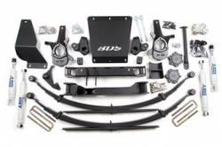 """4WD - 1999-2006 K1500 - BDS Suspension - BDS Suspension 4-1/2"""" Lift Kit for 1999 - 2006 Chevrolet/GMC 4WD Silverado/Serria 1500 1/2 ton pickup trucks -181H"""