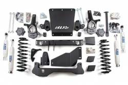 "Avalanche 1500 4WD - 2000-2006 - BDS Suspension - BDS Suspension 6-1/2"" Lift Kit for 2000 - 2006 Chevrolet/GMC 4WD Avalanche, Suburban, Tahoe, Yukon, and Yukon XL, Escalade AWD, 1500 1/2 ton SUVs   - 183H"