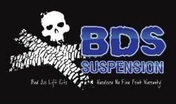 "BDS Suspension - BDS Suspension 6-1/2"" Lift Kit for 2000 - 2006 Chevrolet/GMC 4WD Avalanche, Suburban, Tahoe, Yukon, and Yukon XL, Escalade AWD, 1500 1/2 ton SUVs  - 183H - Image 3"