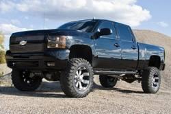"BDS Suspension - BDS Suspension Chevrolet/GMC 4WD 7"" Lift Kit for 99-06 1500 HD Silverado/Sierra 1/2 ton pickup, 01-06 2500 NON-HD Silverado/Sierra 3/4 ton pickup, Avalanche, Suburban, and Yukon XL 2500 3/4 Ton SUVs -189H_SUV - Image 4"
