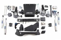 "Avalanche 1500 4WD - 2000-2006 - BDS Suspension - BDS Suspension 4-1/2"" Lift Kit for 2000 - 2006 Chevrolet/GMC 4WD Avalanche, Suburban, Tahoe, Yukon, and Yukon XL, Escalade AWD, 1500 1/2 ton SUVs  -191H"