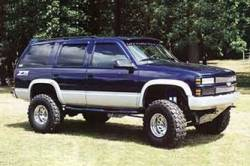 "BDS Suspension - BDS Suspension 6"" Lift Kit for 1992-1998 Chevrolet/GMC 4WD 1500 1/2 ton Suburban, Tahoe, Yukon and 2500 6 lug 3/4 ton Suburban SUVs - 193H_SUV - Image 2"
