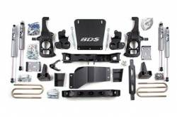 "4WD - 2011-2017 2500 HD - BDS Suspension - BDS Suspension Chevrolet/GMC 6-1/2"" Lift Kit for 2011-17 2500 & 3500 HD Silverado/Sierra - 196H"