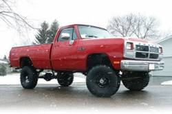 """BDS Suspension - BDS Suspension 5"""" Lift Kit for 1974.5 - 1993 Dodge Ram 1500 1/2 Ton and 2500 3/4 Ton Pickup 4WD Pickup - 202H - Image 2"""