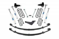 "Excursion 4WD - 2000-2005 - BDS Suspension - BDS Suspension 4"" Lift Kit for 2000-2005 Ford Excursion 4WD - 300H"