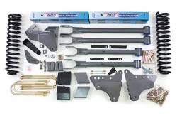 "F250 / F350 - 2005-2007 - BDS Suspension - BDS Suspension 4"" 4-Link Suspension Lift Kit for 2005-2007 Ford F250/F350 4WD pickup truck  -345H"