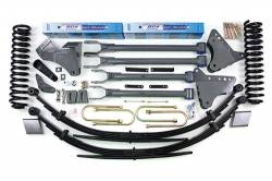 "F250 / F350 - 2005-2007 - BDS Suspension - BDS Suspension 6"" 4-Link Suspension Lift Kit for 2005-2007 Ford F250/F350 4WD pickup truck   -351H"