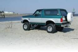 "BDS Suspension - BDS Suspension 6"" Extended Radius Arm Lift Kit for 1980-1996 Full Size Bronco w/power steering   -367H - Image 4"