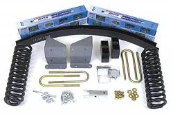 """4WD - 1973-1979 - BDS Suspension - BDS Suspension 4"""" Suspension Lift Kit for 1973-1979 Ford F100 and F150 4WD pickup trucks  -370H"""