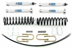 "Cherokee XJ - 1984-1986 - BDS Suspension - BDS Suspension 2"" Lift Kit for 1984 - 2001 Jeep Cherokee XJ  -428H"