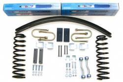 "Cherokee XJ - 1984-1986 - BDS Suspension - BDS Suspension 3"" Lift Kit for 1984 - 2001 Jeep Cherokee XJ  -430H"