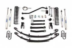 "Cherokee XJ - 1984-1986 - BDS Suspension - BDS Suspension 4-1/2"" Short Arm Lift Kit for 1984 - 2001 Jeep Cherokee XJ   -434H"