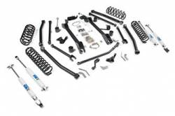 "BDS Suspension - BDS Suspension 4-1/2"" Long Arm Lift Kit for 1997-2006 Jeep Wrangler TJ - 477H"