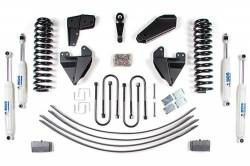 "4WD - 1980-1996 - BDS Suspension - BDS Suspension 4"" Lift Kit for for 1980-1983 Ford F100, and 1980-1996 F150 w/power steering  -501H"