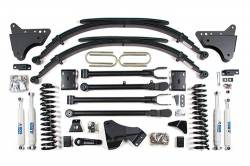 "F250 / F350 - 2008-2010 - BDS Suspension - BDS Suspension 4"" 4-Link Suspension Lift Kit for 2008-2010 Ford F250/F350 4WD pickup truck  -548H"