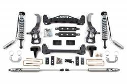 "FORD - 2009-12 Ford F150 - BDS Suspension - BDS Suspension 6"" Coil-Over Suspension Lift Kit System for 2009-2013 Ford F150 2WD pickup trucks - 577F"
