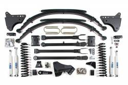 """FORD - 2005-14 Ford F250, F350 Super Duty - BDS Suspension - BDS Suspension 4"""" 4-Link Suspension System for 2011-16 Ford F250/F350 4WD trucks -590H"""
