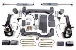"Ram 1/2 Ton Pickup - 2006-2008 1500 - BDS Suspension - BDS Suspension 4"" Lift Kit for 2006 - 2008 Dodge Ram 1500 4WD 1/2 Ton Pickup   -625H"