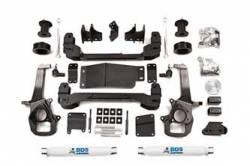 "DODGE - 2013-2016 1/2 Ton Pickup - BDS Suspension - BDS Suspension 4"" 2013 - 2018 Dodge Ram 1500 4WD Gas/Eco-Diesel 1/2 Ton Pickup - 670H"
