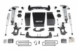 "CHEVY / GMC - 2007-17 Chevy / GMC 1/2 Ton Pickup & SUV - BDS Suspension - BDS Suspension 6"" Coil-Over Suspension Lift Kit for 2014-2017 Chevrolet/GMC 4WD 1500 Series Silverado/Serria 1/2 ton pickup - 710F"