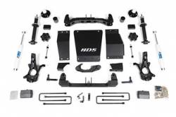 """4WD - 2014-2018 - BDS Suspension - BDS Suspension 4"""" Suspension Lift for 2014-2017 Chevy/GMC 1500 4wd - 712H"""