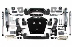 "Tundra 4WD - 2007-2015 - BDS Suspension - BDS Suspension 7"" Coil-over Suspension Lift kit for the 2007 - 2015 Toyota Tundra 2WD & 4WD Pickups - 813F"