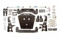 "Tundra 2WD - 2007-2015 - BDS Suspension - BDS Suspension 4-1/2"" lift kit for the 2007 - 2015 Toyota Tundra 2WD & 4WD  - 814H"