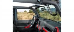 GraBars - Front GraBars For 07-18 Jeep Wrangler JK's (ALL MODELS) - (HARD MOUNT SOLID GRAB HANDLES) - 1001 - Image 3
