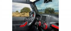 GraBars - Front GraBars For 07-18 Jeep Wrangler JK's (ALL MODELS) - (HARD MOUNT SOLID GRAB HANDLES) - 1001 - Image 6