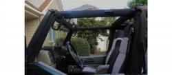 GraBars - Front GraBars for Jeep Wrangler TJ 97-06 (HARD MOUNT SOLID GRAB HANDLES)  -1018 - Image 2