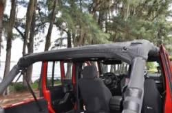 GEARSHADE - FullShade Jeep Wrangler JKU 4 Door 07-15 GearShade Pocket Top -FSJKU - Image 5