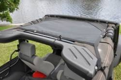 GEARSHADE - HalfShade Jeep Wrangler JK 2 Door 07-15 GearShade Pocket Top  -HSJK