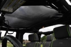 GEARSHADE - HalfShade Jeep Wrangler JKU 4 Door 07-15 GearShade Pocket Top  -HSJKU - Image 3