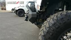 IRON CROSS - IRON CROSS Front Stubby Bumper for Jeep Wrangler JK 07-18 - WITH BAR - GP-1200 - Image 6