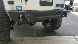 IRON CROSS - IRON CROSS Rear Stubby Bumper for Jeep Wrangler JK 07-18 - GP-2000 - Image 4
