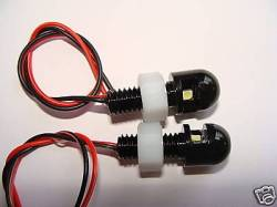Jeep - Jeep LJ Wrangler 04-06 - Pandemic - Black Billet Aluminum Powder Coated LED License Plate Lights - PAIR - UNIVERSAL   -LED-LICPLATE-BLACK