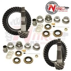 Nitro Gear & Axle - NITRO GEAR PACKAGE FOR 2007-Newer Jeep Wrangler Rubicon, CHOOSE RATIO  -GPJKRUBICON