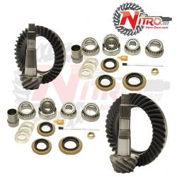Nitro Gear & Axle - Nitro Front & Rear Gear Package Kit 1994-2001 Dodge Ram 1500, (Choose Ratio)