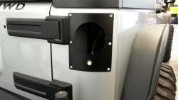Lighting - Mounting - Pandemic - Jeep JK Flush Mount Light Conversion Plates w/ Hardware - For Jeep Wrangler JK 2007-2018 2 & 4 Door- PAN-5000
