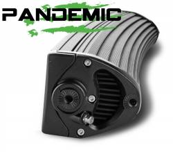 "Pandemic - 50"" PANDEMIC CURVED LED Light Bar - Double Row - Combo Beam - 5W Osram LED W/ 4D PMMA Optics -PAN-LED-R2-50-CURVED - Image 4"
