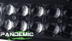 "Pandemic - 50"" PANDEMIC CURVED LED Light Bar - Double Row - Combo Beam - 5W Osram LED W/ 4D PMMA Optics -PAN-LED-R2-50-CURVED - Image 5"