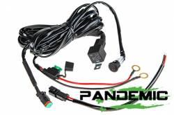 "Pandemic - 50"" PANDEMIC CURVED LED Light Bar - Double Row - Combo Beam - 5W Osram LED W/ 4D PMMA Optics -PAN-LED-R2-50-CURVED - Image 8"