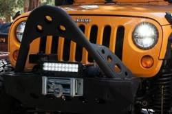 """Truck-Lite - Truck-Lite 7"""" Round LED Headlamp - Fits Jeep Wrangler JK TJ CJ or any 7"""" Round H4 Style - PAIR - Image 2"""