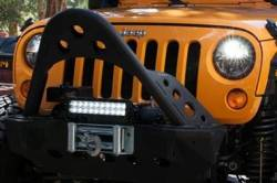 """Truck-Lite - Truck-Lite 7"""" Round LED Headlamp - Fits Jeep Wrangler JK TJ CJ or any 7"""" Round H4 Style - PAIR - Image 3"""